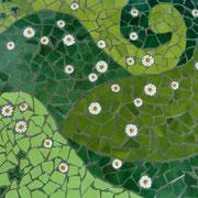 Scherbenmosaik vom Mosaikstuhl
