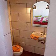 . . . und nochmal das Badezimmer der Casita