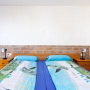 die Betten im 3. Schlafzimmer