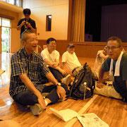 上野毛ダンディーズの方々 英語の放送をして頂きました