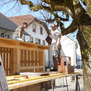 Ulla Strittmatter steigt uns auf´s Dach