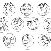 Expression Sheet, freie Arbeit