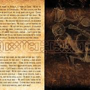 """Bookletseite """"Winners & Boozers"""" von Fiddler's Green, 2013"""