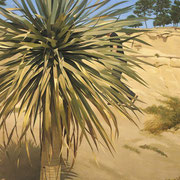Yucca. Óleo sobre madera / Oil on table, 130 x 97 cm, 2005-2006