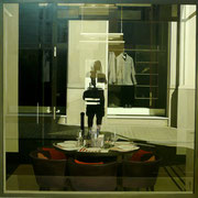 Selfportrait reflejo, 114x116 cm