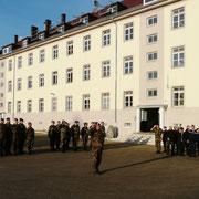 31.10.2014 Dernière cérémonie militaire de l'organe liquidateur du 110° R.I.