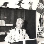 Le Col Prost, chef de corps du 110 du 1967 à 1969.