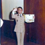 1975 certificat de bonne conduite pour le Sch Pannocchia