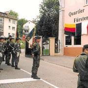 Le quartier Turgis est rebaptisé Quartier Fürstenberg par le commandant d' armes,  le COL Pellabeuf.