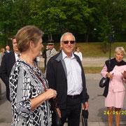 Françoise, Albert Kuntzmann, Danielle.