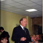 Gal Schwartz (75-77) repas des anciens du 110 à l' EAI Montpellier.