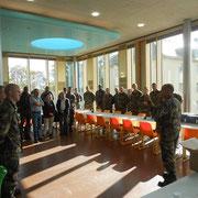 22 octobre 2014, dernier rassemblement de l' organe liquidateur du 110° R.I. présidé par le LCL Wallerich.