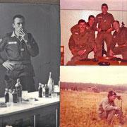 1967, le Ltn Poumeau de Laffororest, chef de la section Entac B.