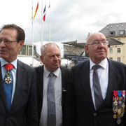 Hocine Bouares, Pierre Cesari et Gilbert Sandmayer.
