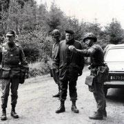 Col Doussineau, chef de corps du 110 (79-81)