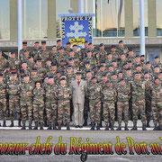Les caporaux-chefs du 110° régiment d' infanterie.