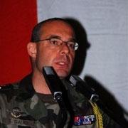 COL Gauci, chef de corps du 110 de 2006 à 2008.