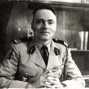 Le Col Fuhr, chef de corps du 110 de 1965 à 1967.