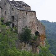 La dernière ruine de Cantobre (en rénovation)