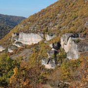 Les rochers de Cantobre