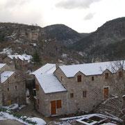 Lou Clapas en conditions hivernales