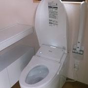 手すり付洋便器トイレ