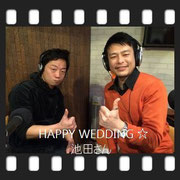 HAPPY WEDDING 池田さん