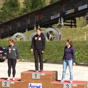 Start SM 2015: Marina, Susi Zimanyi, Fabienne Hodler
