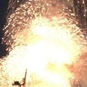爆発ですね。
