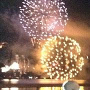 敦賀の花火大会です。