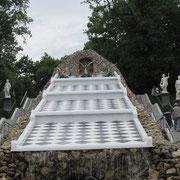 Das Schachbrett in Peterhof.