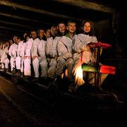 Excursies rond Flachau - zoutmijn Hallein