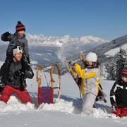 Flachau in de winter – vakantie op de boerderij