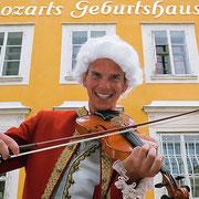 Ausflugsziele rund um Flachau - Mozartstadt Salzburg