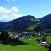 Flachau im Sommer - Urlaub am Bauernhof