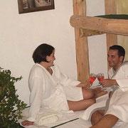 Vakantie op de boerderij Flachau- Sauna