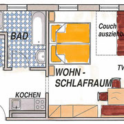 Appartement Type A - Vakantie op de boerderij Flachau