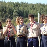 Recepção das noviças na Tribo