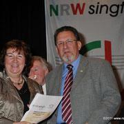 Ehrung für 25 Jahre unser Vereinsmitglied Wilfried Rötzel
