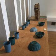 Exposition Traversée  Céramiques de l'atelier Brigitte Morel du 23 mai au 7 juillet 2018 Curieuse galerie, 25 rue Chanzy 75011 Paris