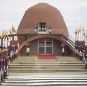 Mausoleo de Eloy Alfaro en Ciudad Alfaro de la ciudad de Montecristi.