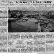 Lindauer Zeitung 10.07.2015:  Ankündigung der Vereinsgründung