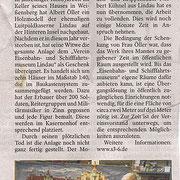 Lindauer Zeitung (Vereinsseite) 29.09.2015: Schenkung Modell Luipoldkaserne