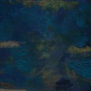 Knickrolle I., 100 x 200 cm, 2013, Öl auf Leinwand