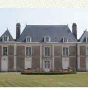 site de Mantelon avec son chateau XVIIIè