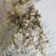 Quarz, Epidot, Prehnit und weitere - Arvigo 2018 - 6cm - Peter Heer