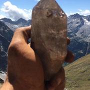 Quarzstufe - Muttenhörner 2017 - 12 cm - Ralph Tschirren