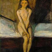 ÉTICA   EL CUERPO. Edvard Munch: La pubertad (1894)