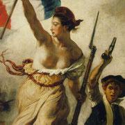 POLÍTICA    EL ESTADO. Eugene Delacroix: La libertad guiando al pueblo (1830)