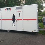 Mehr Komfort: der neue Toilettenwagen!